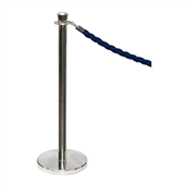 BARRIER SYSTEM COMPASS 781200 QUEUING STANCHION STANDARD GRADE ROPE NOT INCLUDED