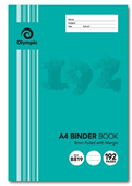 BOOK BINDER OLYMPIC A4 192 PAGE